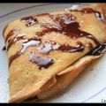 Crepes con la Nutella ...