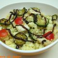 Couscous con zucchine, pollo e glassa all'aceto[...]