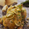 Pollo al limone e menta in crosta di sale al[...]