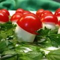 Caprese visual food