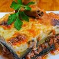 moussaka d'agnello