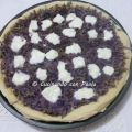 Pizza con patate viola e crescenza