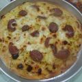 Pizza patate e salame