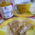 Crepes al the e farro integrale