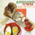 Avocado in forno con ovetto