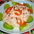 Mousse di salmone alla Vodka