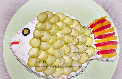 Ricetta Insalata Russa Misya.Insalata Russa Con Pesce Salata De Legume Cu Peste Ricetta