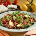 Roast beef al sale in insalata