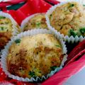 Muffin salati allo yogurt: piselli, cotto e[...]