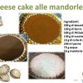 Cheese cake alle mandorle..