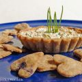 Tartellette salate integrali all'anice e olive,[...]