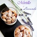 Panna cotta mirtillo e lavanda