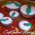 Cupcakes Marry Xmas allo yogurt.