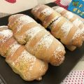 BRIOCHE ARROTOLATE all' ARANCIA