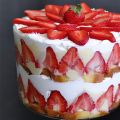 Trifle alle fragole