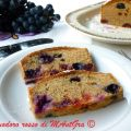 Plumcake all'uva Barbera