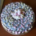 Torta al cioccolato con marshmallows
